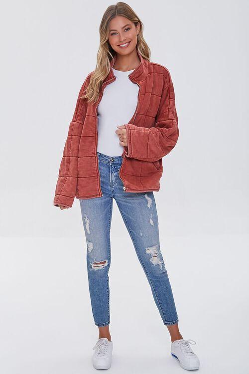Quilted Zip-Up Jacket, image 4