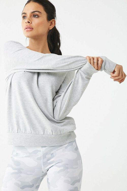 Active Crisscross Back Sweatshirt, image 2