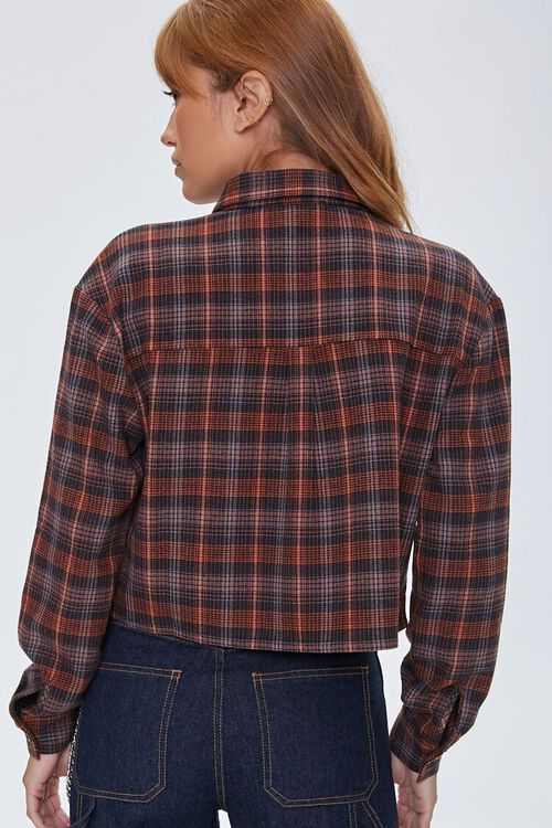 Plaid Button-Front Shirt, image 3