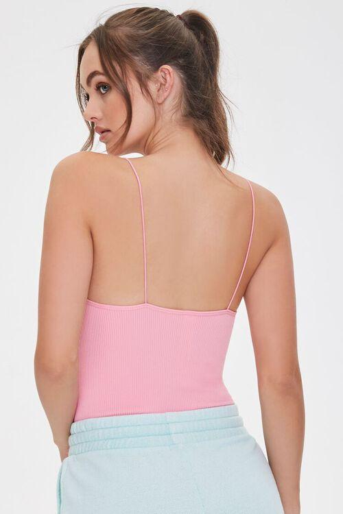Seamless Ribbed Bodysuit, image 3
