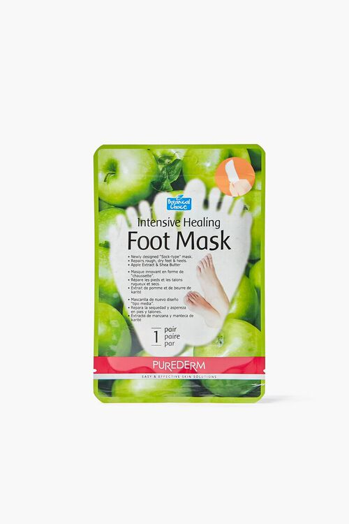 GREEN Purederm Healing Foot Mask, image 1