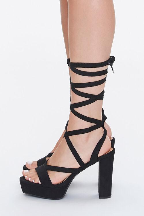 Lace-Up Platform Heels, image 2