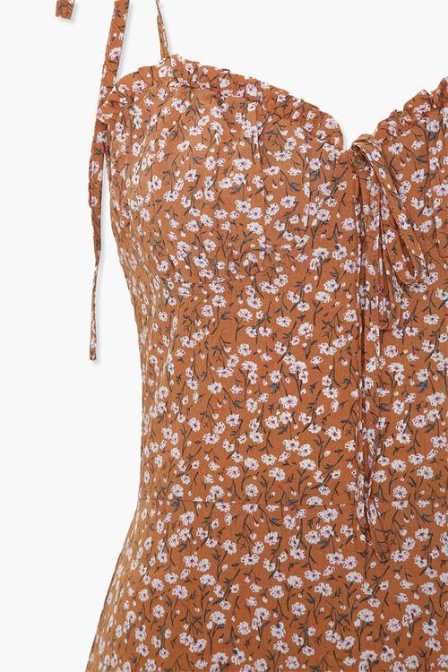 Ruffled Floral Cami Dress, image 4