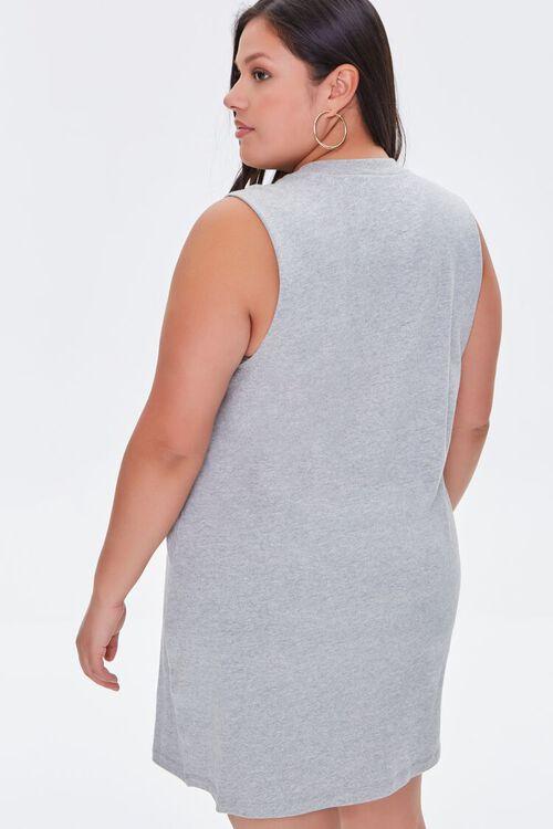 Plus Size T-Shirt Mini Dress, image 3