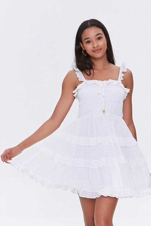 Ruffled Tiered Cutout Dress, image 1