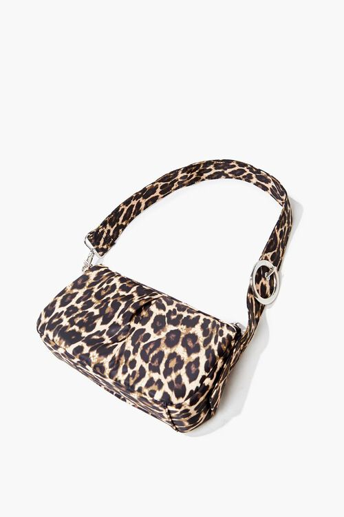 Leopard Print Shoulder Bag, image 2