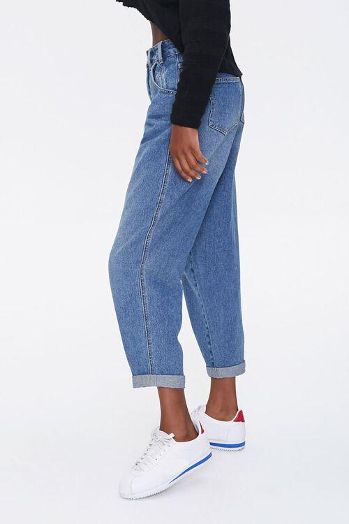 MEDIUM DENIM Wide-Leg Ankle Jeans, image 3