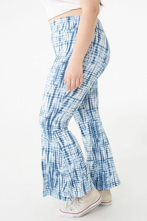 Plus Size Tie-Dye Flare Pants, image 3