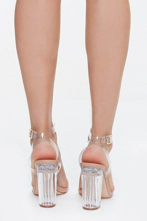 Transparent Vinyl Lucite Heels, image 3