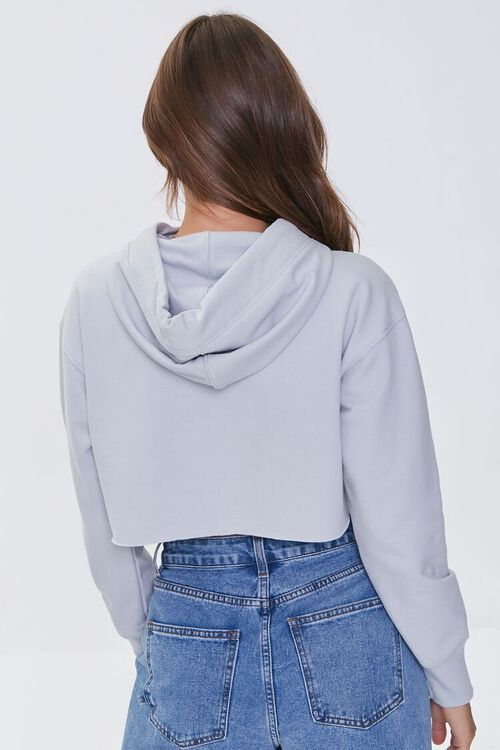 Fleece Cropped Hoodie, image 3
