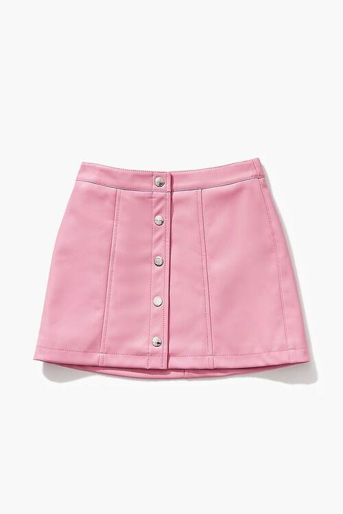 Girls Button-Front Skirt (Kids), image 1