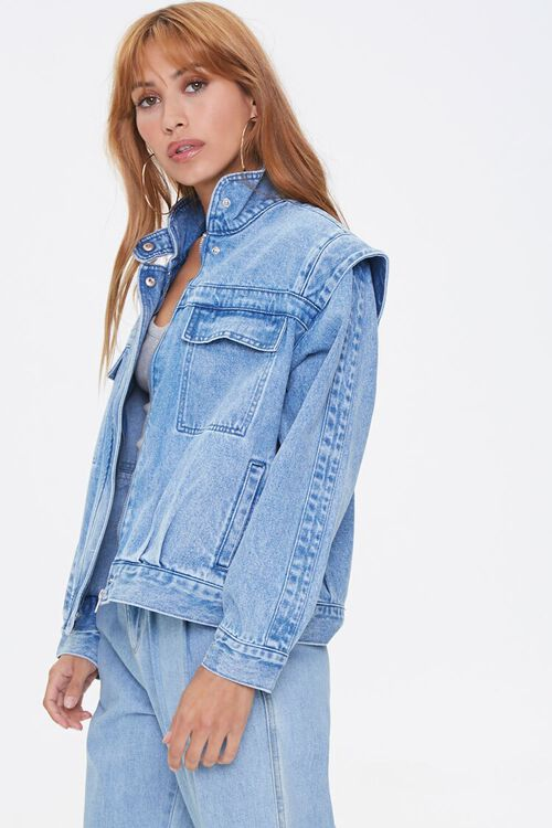 ACID DENIM Layered Denim Jacket, image 2