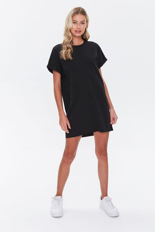 Cuffed T-Shirt Dress, image 4