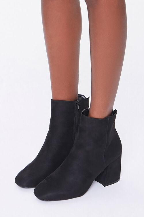 Square Block Heel Booties, image 1