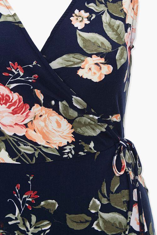 Plus Size Floral Tulip-Hem Dress, image 4