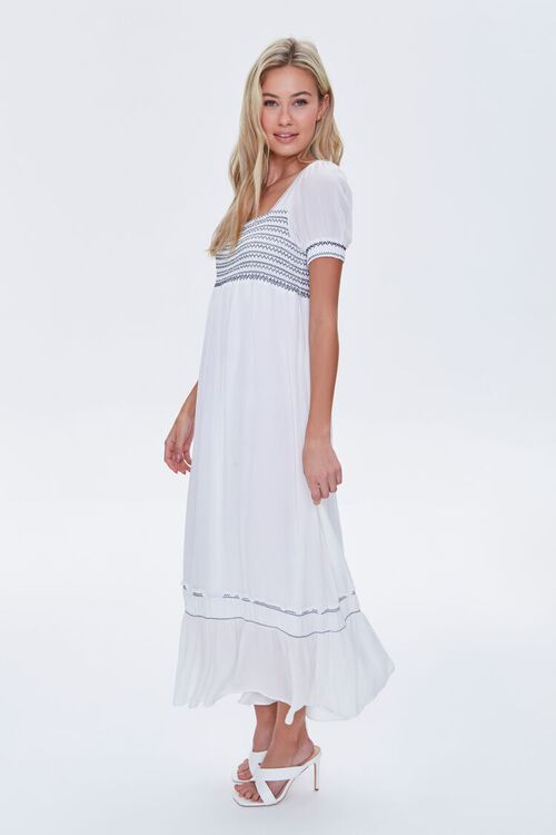 Embroidered Maxi Dress, image 2