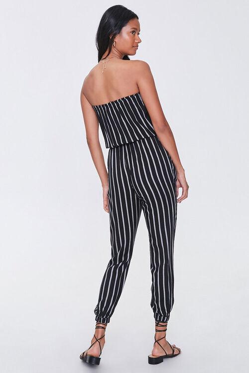 Striped Tube Jumpsuit, image 3
