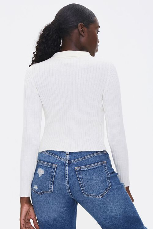 Ribbed Cardigan Sweater, image 3