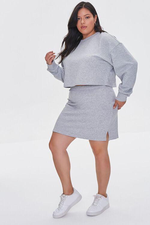 Plus Size Bodycon Mini Skirt, image 5