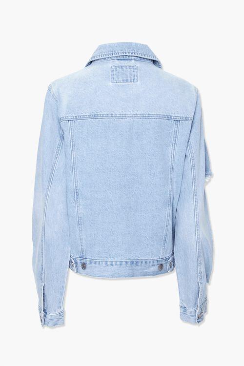 Button-Front Denim Jacket, image 3
