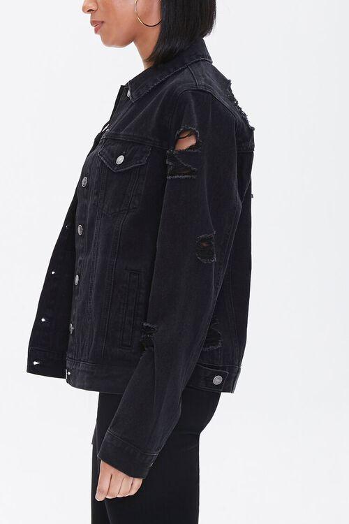 Distressed Denim Jacket, image 2