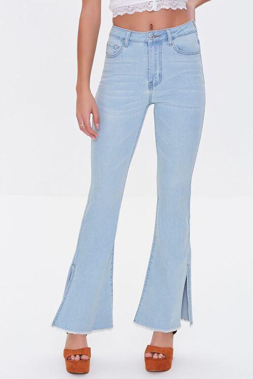 Premium Split-Leg Flare Jeans, image 2