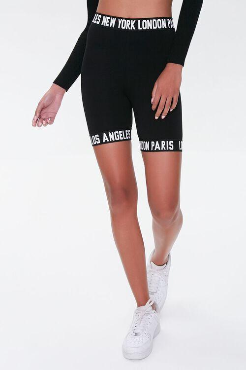 City Graphic Biker Shorts, image 2