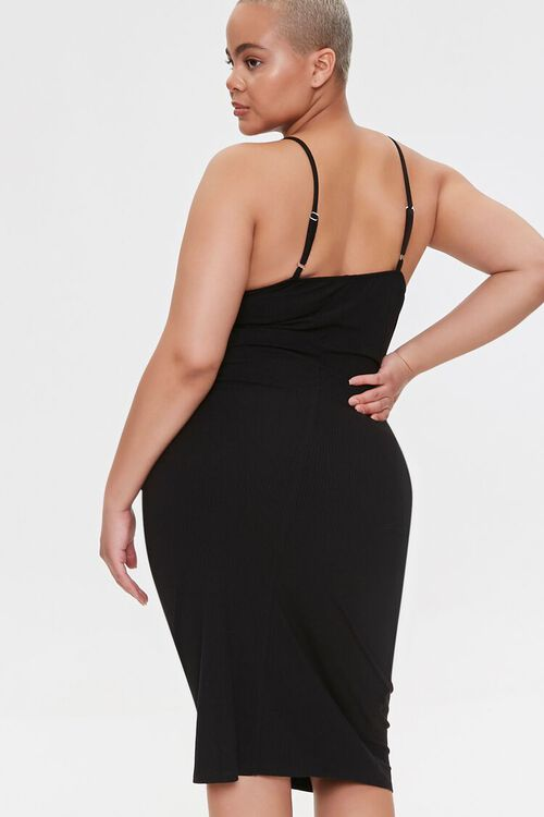 Plus Size Ribbed Bodycon Dress, image 4