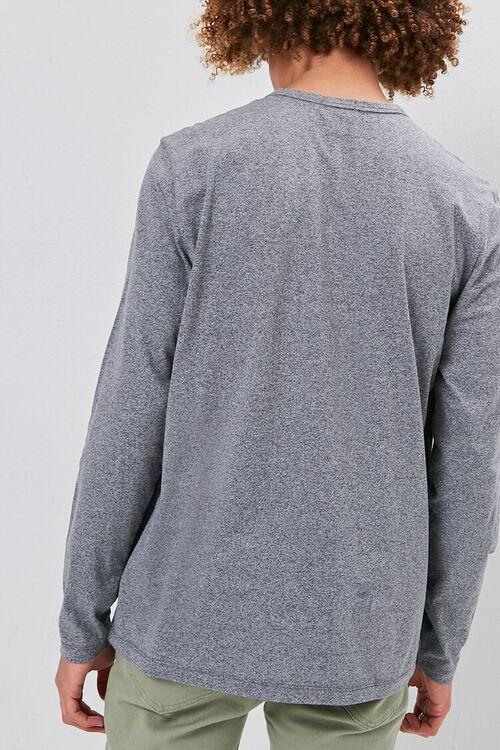 Long Sleeve Henley Tee, image 3