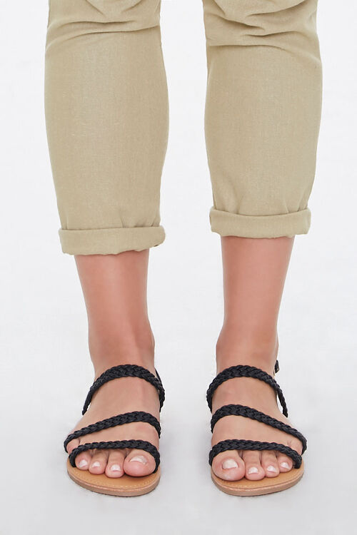 Braided Flat Sandals, image 2