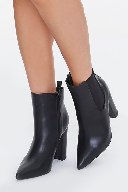 Pointed Toe Chelsea Boots, image 1