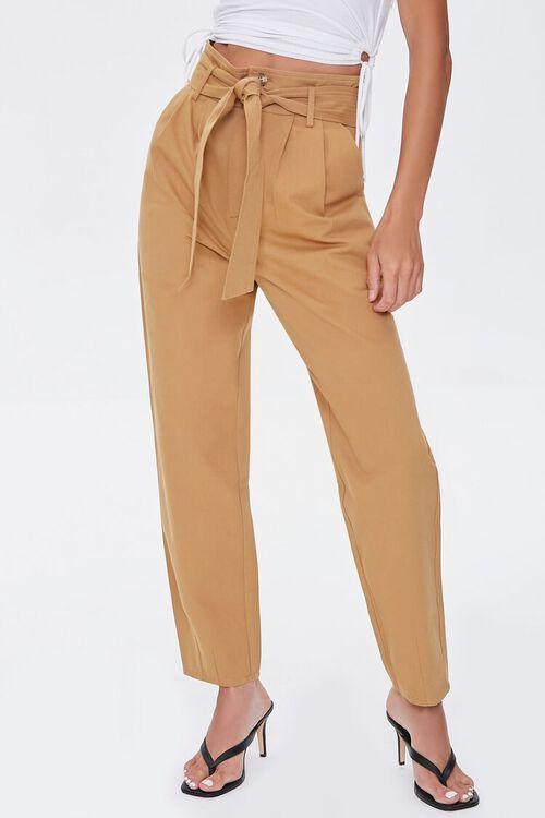 Pleated Straight-Leg Pants, image 2
