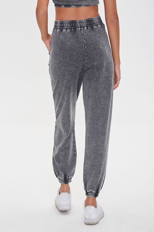 Oil Wash Smocked Joggers, image 4