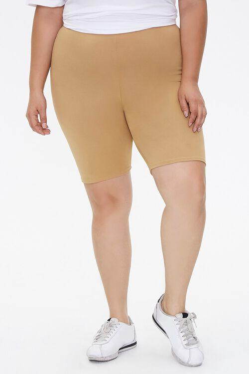 Plus Size Biker Shorts, image 2