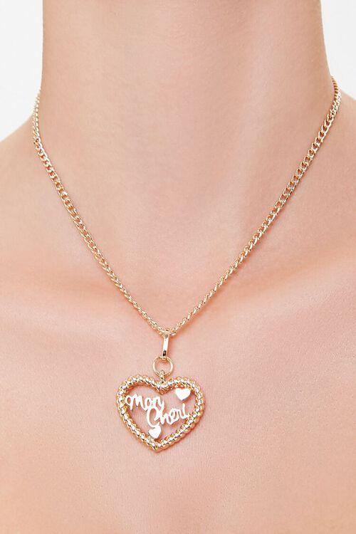 Mon Cheri Heart Pendant Necklace, image 1