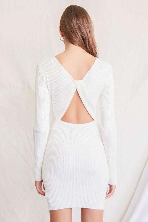CREAM Twisted-Back Sweater Dress, image 4