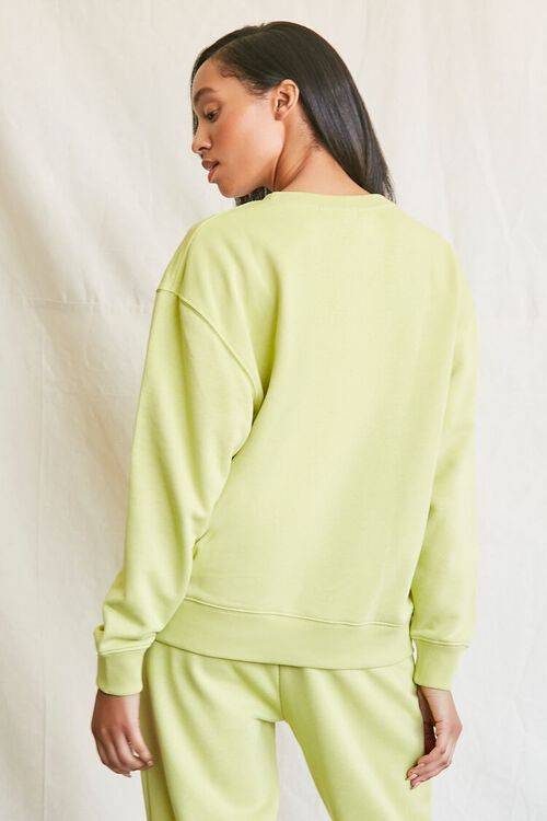 SAGE French Terry Crew Pullover, image 3
