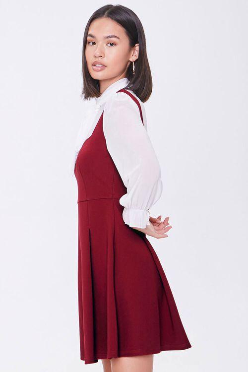 Chiffon Combo Dress, image 2