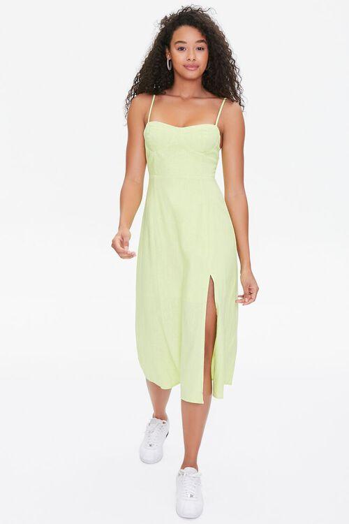 LIME Bustier Cami Midi Dress, image 4