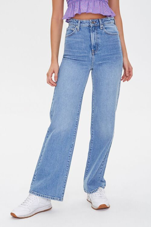 Faded Straight-Leg Jeans, image 2