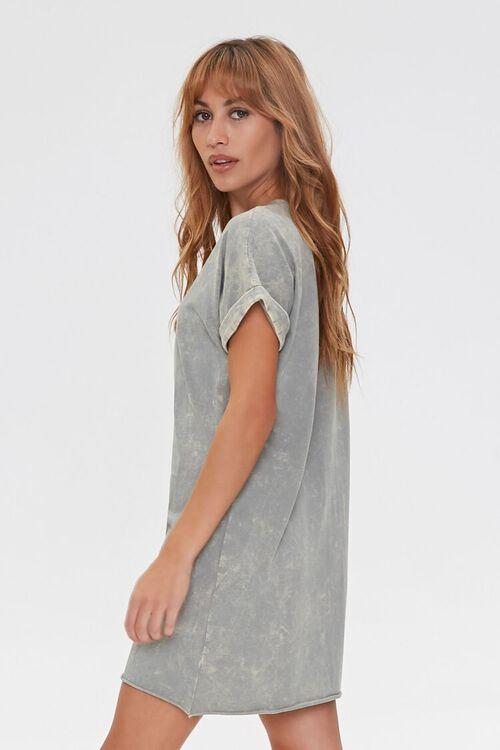Oil Wash T-Shirt Dress, image 2