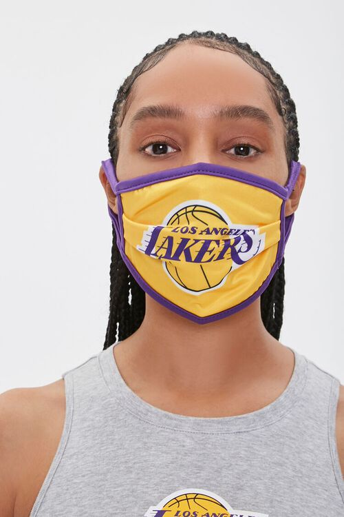 Lakers Graphic Face Mask, image 3
