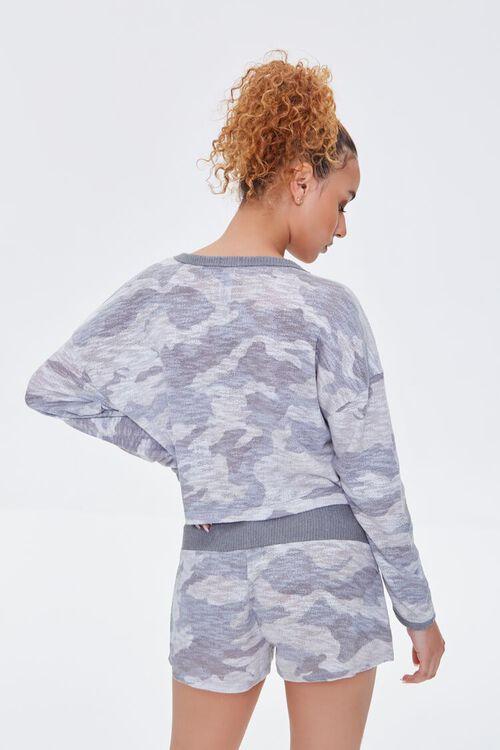 Camo Print Pajama Top, image 4