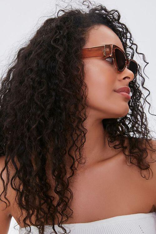 Wide Cat-Eye Sunglasses, image 2