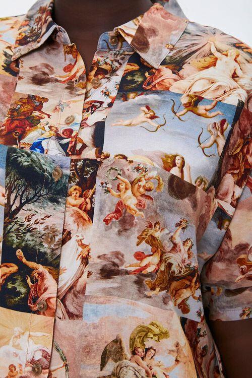 Plus Size Renaissance Art Print Shirt, image 5