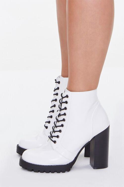 Block Heel Booties (Wide), image 2