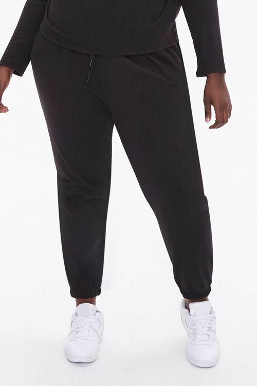Plus Size Top & Joggers Set, image 4