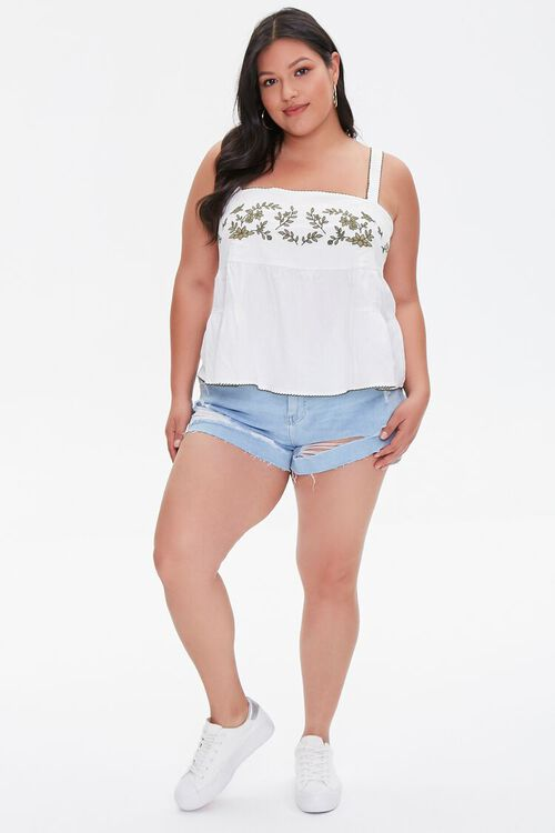 Plus Size Embroidered Top, image 4