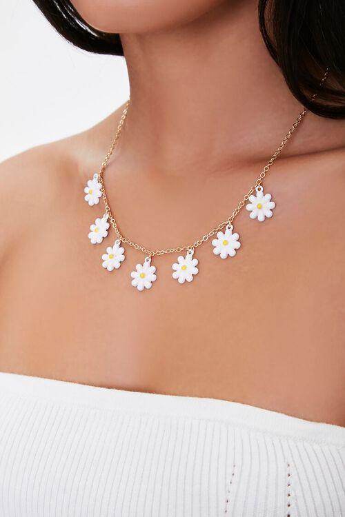 Daisy Pendant Necklace, image 1