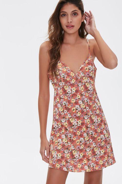 Floral Print Cami Dress, image 1